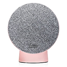 Baseus E25 Hi - One Mini Bluetooth Speaker With NFC AUX Input-LIGHT PINK