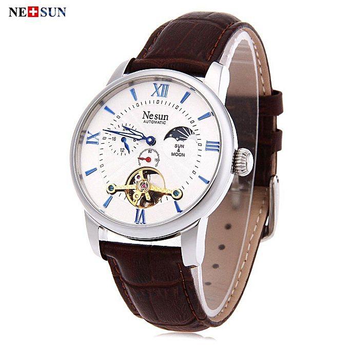 Fashion Nesun 9031 Male Automatic Mechanical Watch