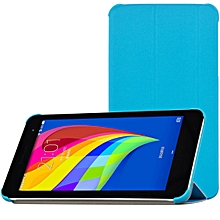 Tri fold Standing PU Leather Case for Huawei Honor T1 701U Tablet