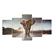 Wall Painting Elephant Modern Abstract Art Prints Picture On Canvas Home Decor