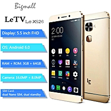 "LeTV Le X526 5.5"" FHD (3GB, 64GB ROM), Android 6.0 16.0MP + 8.0MP, 3000mAh, Fingerprint Sensor"