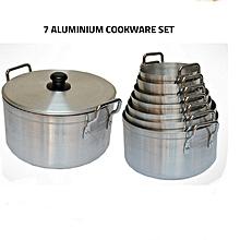 7 aluminium cookware