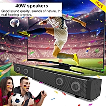 LEORY EU/ US/ UK LP-09 Bluetooth Speaker Soundbar 40W Home Theater TV Speaker Wireless Remote TF Card 4 Loudspeakers
