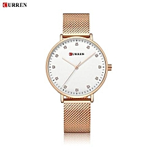 Women Watch New Quartz Wristwatches Top Brand Luxury Fashion Watches Ladies Quartz Wristwatch - Rose Gold