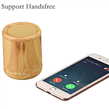 Mini Bluetooth Speaker Wooden Music Box Support TF AUX Speaker Speaker Stereo Wireless Outdoor for iPhone Huawei Xiaomi