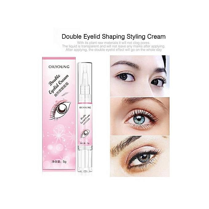 e284e0ff2df ... Double Eyelid Cream Invisible Eyelids Glue Long Lasting Magical Eye  Makeup Tools ...