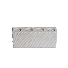 Ceramic Tea Light Holder - White