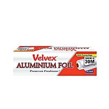 Aluminium Foil - 30cm x 30m - Silver