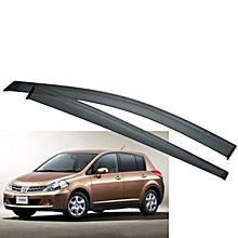Car Windbreaker/ Window Visor 4pcs for Nissan Tiida Hatchback