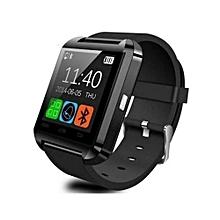 U8S - Smart Watch Sports Remote Camera 230mAh - Black