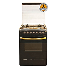 EB/302-5693 - 4 Gas Roti + Auto Ignition Cooker- Brown