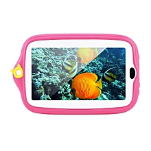 7 inch Tablet 8GB 0.3MP Camera Android 4.4 Kids With Silicone Cover pink