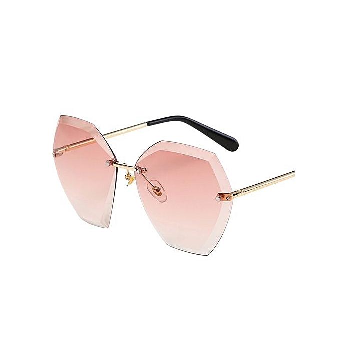 Buy Fashion Fohting Women Man Vintage Transparent Small Frame ...