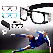 Basketball Soccer Sports Protective Eyewear Goggles Eye Safety Glasses With Case Blue