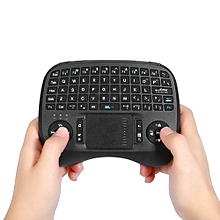 iPazzPort KP - 810 - 21T 2.4GHz Mini Wireless QWERTY Backlit Keyboard with Touchpad