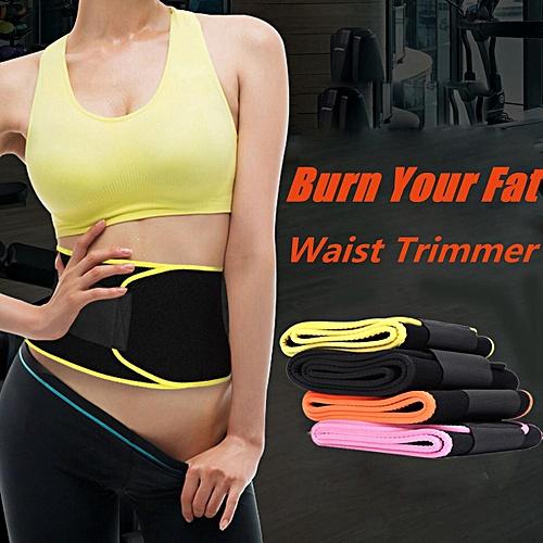 4fe21df97d Generic Waist Shaper Corset Slimmer Fitness Back Supporter Abdomen Belt