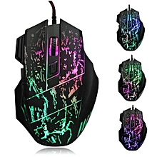5500 DPI Colorful LED Optical USB Wired Gaming PRO Mouse Mice For PC Laptop
