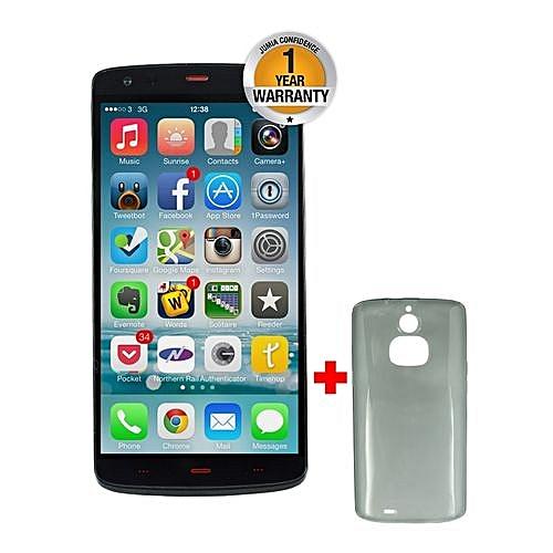 X10 Smartphone - 5.5 inch - 16 GB - 2 GB RAM - 13 MP + 13 MP Camera - Dual Sim - Octa Core 1.7GHz - 4G/LTE (Black) + Free back cover