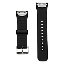 Replacement Silicone Wristband Watch Band Strap For Samsung Gear Fit 2 SM-R360  Black