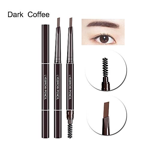 93d1c6c9ecd Generic 1PC Professional Automatic Eyebrow Pencil Waterproof Longlasting Eye  Brow Pen with Brush Cosmetic Makeup Tools(Plum)