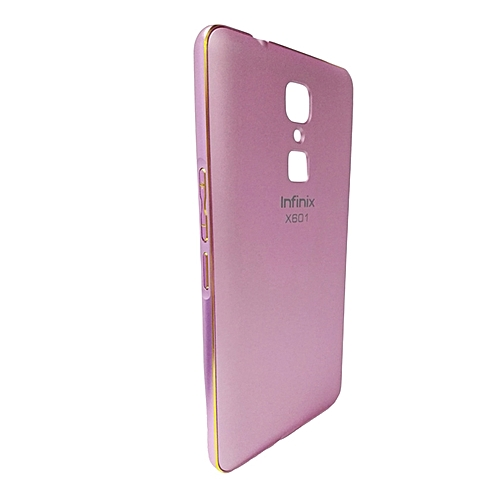 separation shoes baae4 46b11 INFINIX Note 3 PRO Back Cover - Pink With Metal Finish