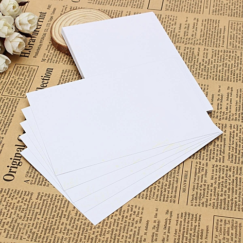 Buy Generic 50pcs Waterproof A4 Self Adhesive Glossy Paper Sticker