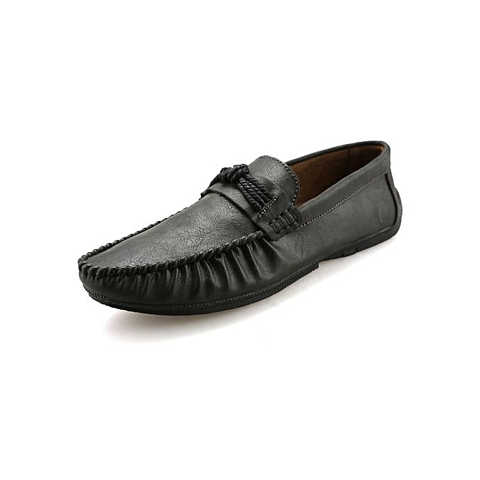 d5a53ba0e9 2019 New Mens Loafer Slip On Leather Shoes Fashion Casual High Quality Doug  Shoes For Driving