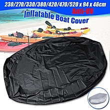 7 Sizes Inflatable Boat Cover Waterproof Anti-UV Cover Dustproof Protect Boat