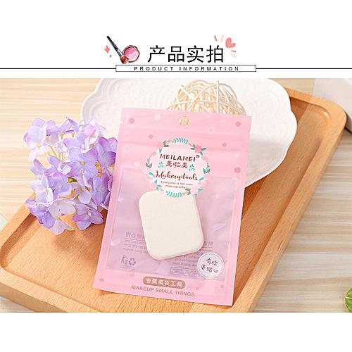 Melaramie professional cosmetic latex powder puff compact soft square edge  grinding powder puff cosmetic powder puff 4