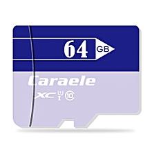Caraele Multi-storage TF / Micro SD Memory Card XC Class 10 UHS-I LIGHT PURPLE 64GB