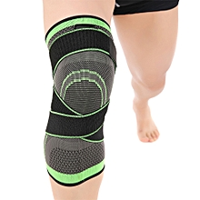 Knee Brace Support Single Wrap with Adjustable Compression Straps Knee Support Braces Sleeve for Running Jogging Sports Injury Recovery