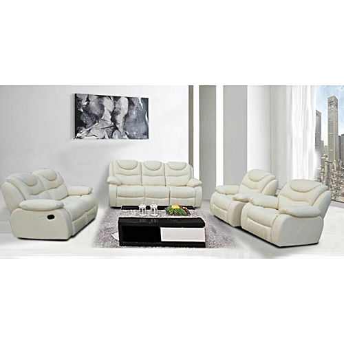 Pure Leather Sofa Sets: Leatherman Pure Leather Recliner Sofa @ Best Price