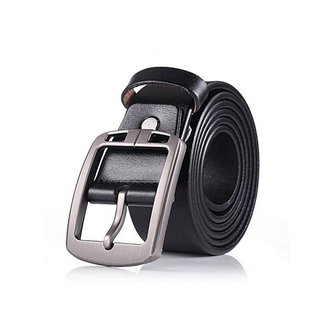 Fashion Cowhide Genuine Leather Belts For Men Brand Strap Male Pin