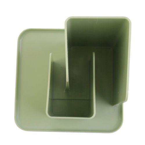Desktop Remote Control Storage Box Cosmetic Organizer Sunbries Storage Boxes  Green