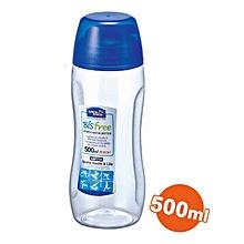 Bisfree Sports Water Bottle, 500ml - Clear