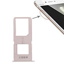 2 x SIM Card Tray for Vivo X6S Plus(Gold)