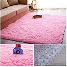 Fluffy Carpet -5x7 - Pink