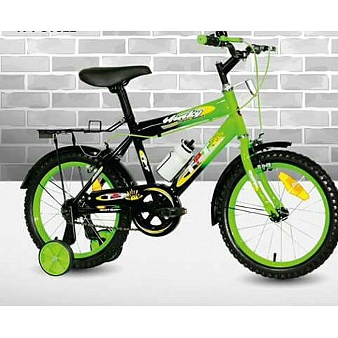 Exercise Bike Jumia Kenya: Generic Kid's Bike-TPT HUSKY 16''-Green 4-8yrs @ Best
