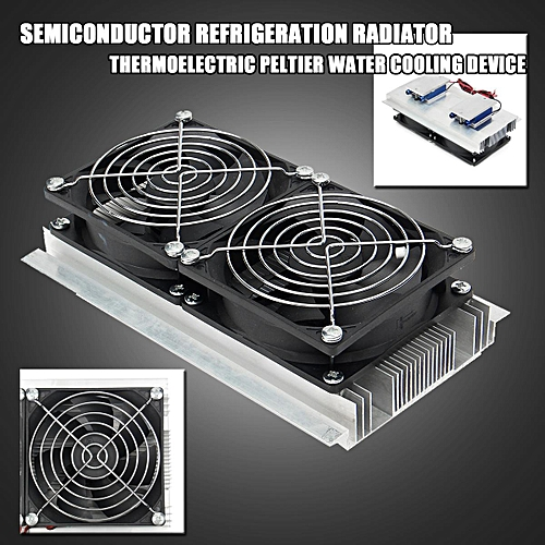 120W Semiconductor Refrigeration Thermoelectric Peltier Water Cooling Device