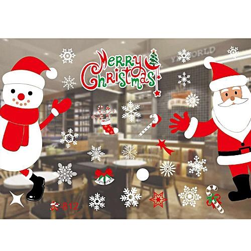 Buy Muyi Christmas Living Room Xmas Santa Claus Snowman Elk Wall
