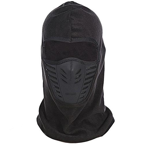 1dbf973d213beb Generic Winter Unisex Windproof Motorcycle Bicycle Face Mask Neck Helmet Cap  Thermal Fleece Hat - Black