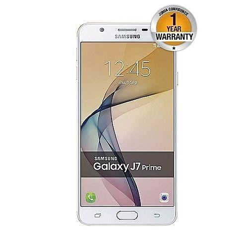 Samsung Galaxy J7 Prime 55 32GB Dual SIM White Gold