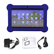 Professional 7 inch Children Tablet 2G+16G A33 Quad Core Dual Camera Tablet PC blue