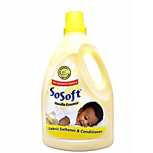 Vanilla Essence Fabric Softener & Conditioner 2.5 Litres