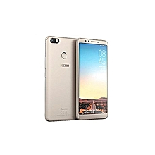 "Camon X  [32GB - 3GB RAM] 4GLTE - 6.0"" - 20MP Selfie Camera -Dual SIM- Midnight Gold"