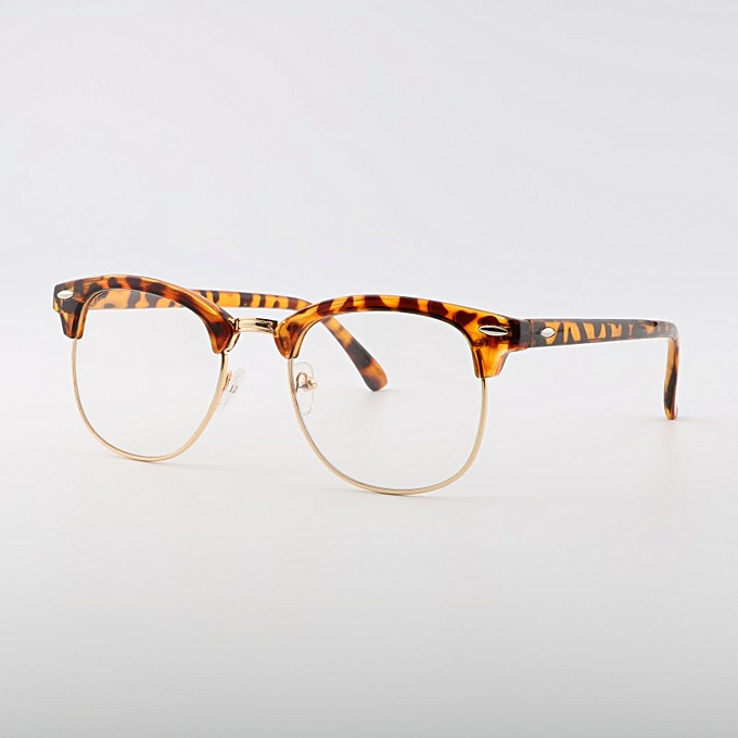 0a438eee4 Men UV400 Sunglasses Men Women Luxury Vintage Semi-Rimless Brand Designer  Fashion Mirror Shades For