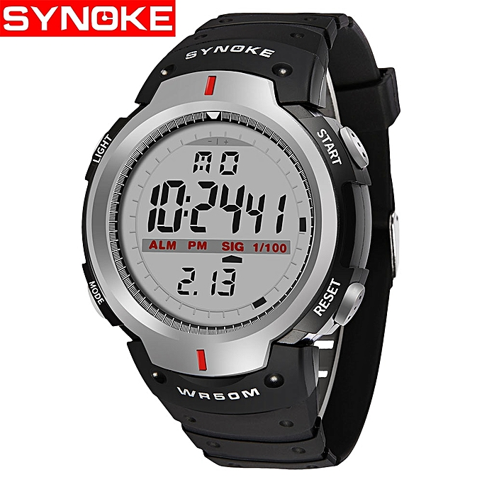 64266319d7 Men 30M Waterproof Electronic LED Digital Watch Men Outdoor Mens Sports  Wrist Watches Stopwatch