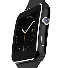 X6 - Smart Watch Phone MTK6260 0.3MP Camera  - Black