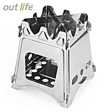 Portable Stainless Steel Lightweight Folding Stove