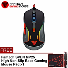 FANTECH (SP21) V5 WARWICK 3200 DPI USB Optical Full Function Gaming Mouse Six Button Multimedia Mode HT